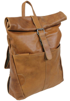 Frankies Garage Roll-Rucksack RODEO
